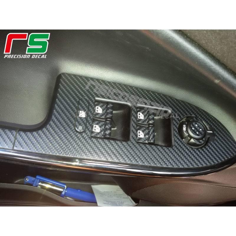 stickers Alfa Romeo Giulietta carbonlook Decal island window regulator