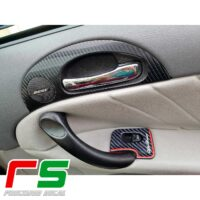 stickers Alfa Romeo 147 GT carbon look tweeter Decal handle
