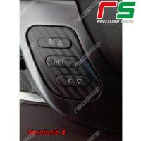 adesivi Alfa Romeo Giulietta carbonlook Decal tasti regolazione fari