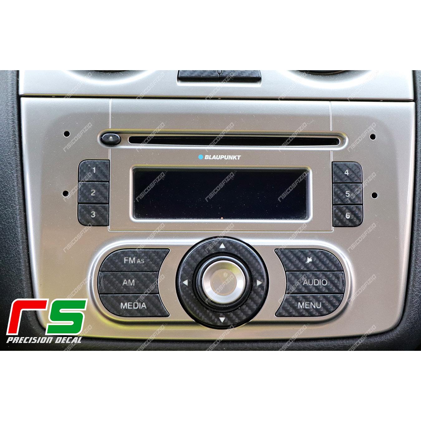 adhésifs Alfa Roméo Mito sticker touches stéréo radio