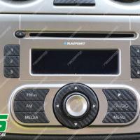 adesivi Alfa Romeo Mito carbon look Decal tasti radio stereo