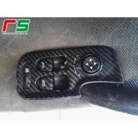 adesivi Alfa Romeo 147 carbon look alzacristalli Decal