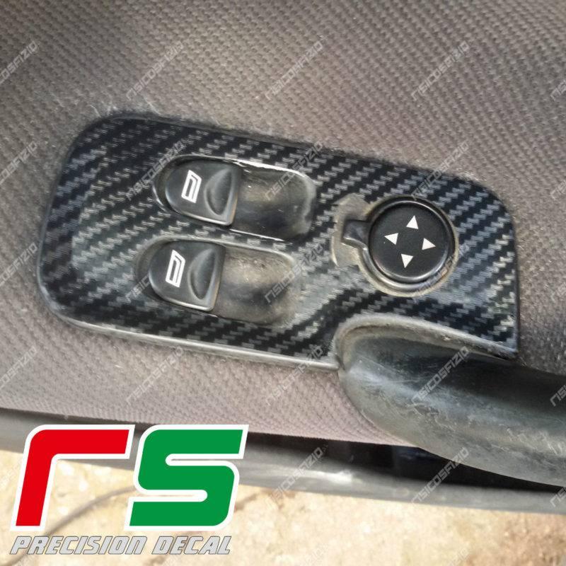 adesivi Alfa Romeo 147 3 porte GT carbonlook alzacristalli Decal