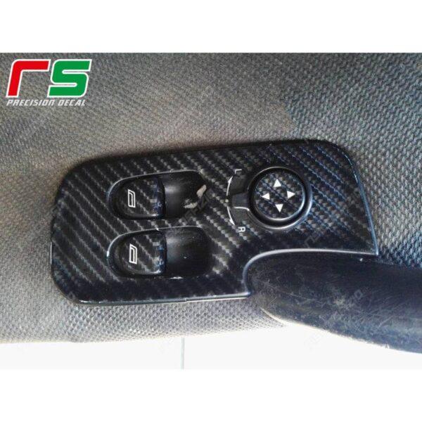 adesivi Alfa Romeo GT 147 3 porte carbonlook Decal alzacristalli