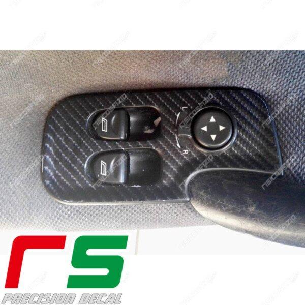 adesivi Alfa Romeo 147 3 porte GT carbonlook Decal alzacristalli