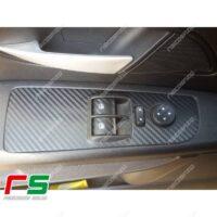 adesivi Fiat Punto 3 porte carbon look Decal alzacristalli