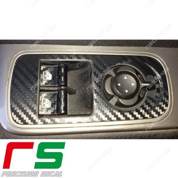 adesivi Alfa Romeo 4C Decal adesivi carbonlook pulsantiera alzacristalli