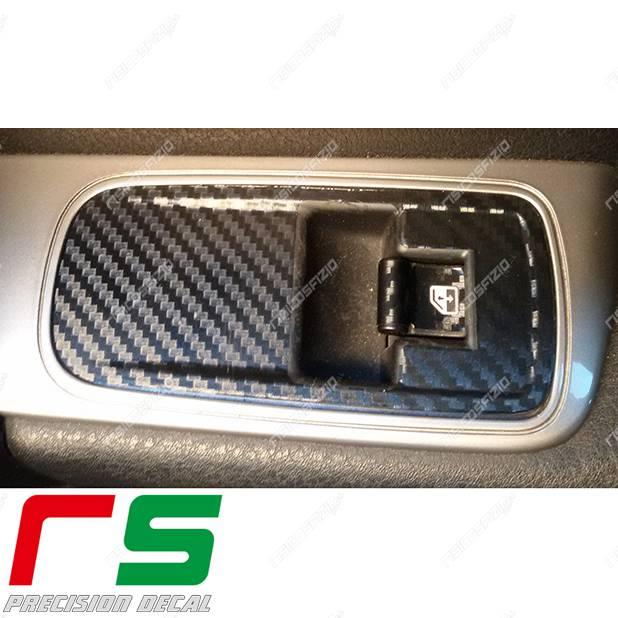 Adesivi Alfa Romeo Mito Carbon Look Decal Alzacristalli