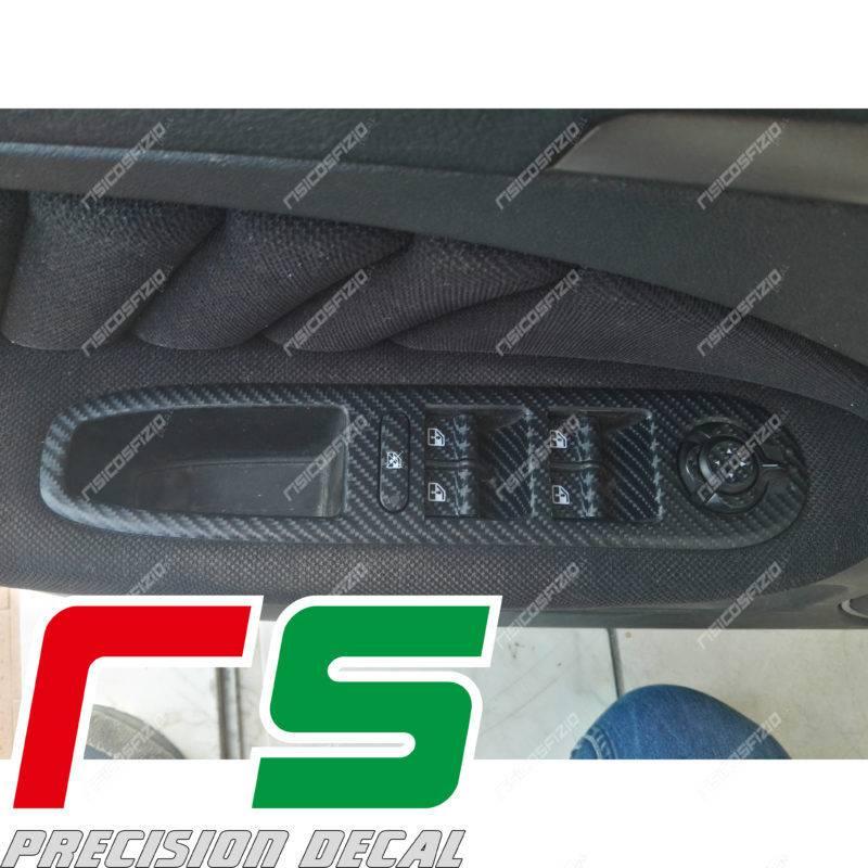 adesivi Alfa Romeo 159 carbonlook Decal alzacristalli