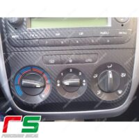 adesivi Fiat Punto Decal carbonlook decal climatizzatore manuale