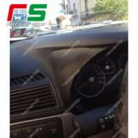 Fiat Punto Decal adesivi carbonlook cover cruscotto