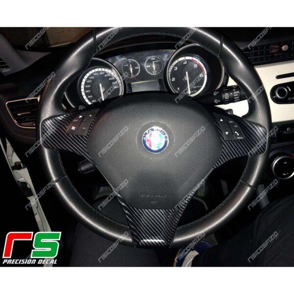Alfa Romeo Giulietta Carbonoptik-Aufkleber Rassenabdeckung