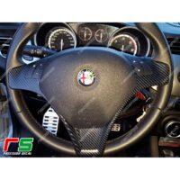 adesivi Alfa Romeo Mito Giulietta carbon look decal cover volante