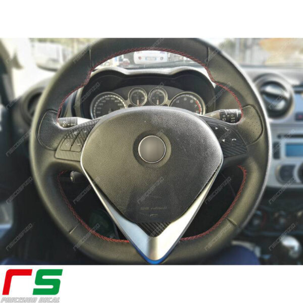 adesivi Alfa Romeo Giulietta Mito carbonlook comandi volante Decal