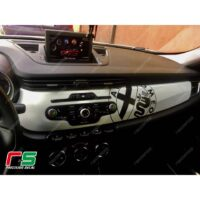 adesivi Alfa Romeo Giulietta carbonlook Decal decorazione cruscotto logo