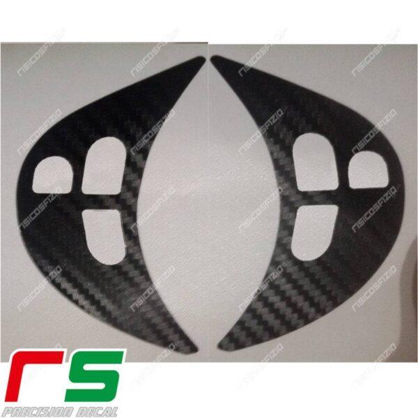 adesivi Alfa Romeo 147 156 GT carbonlook Decal razze volante