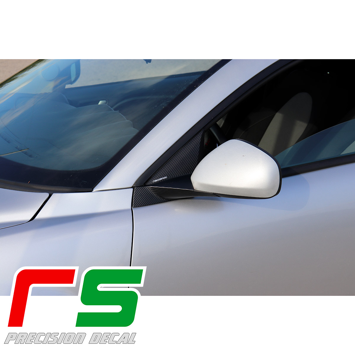 stickers Alfa Romeo Mito carbonlook holder mirror