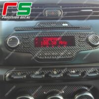 adesivi Alfa Romeo Giulietta carbon look Decal stereo CD radio