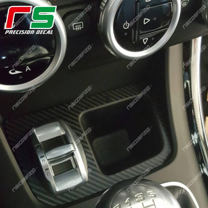 Alfa Romeo Giulietta Decal adesivi carbonlook portamonete supporto DNA