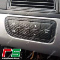 stickers Fiat Punto Decal carbonlook decal carbon vinyl menu keyboard