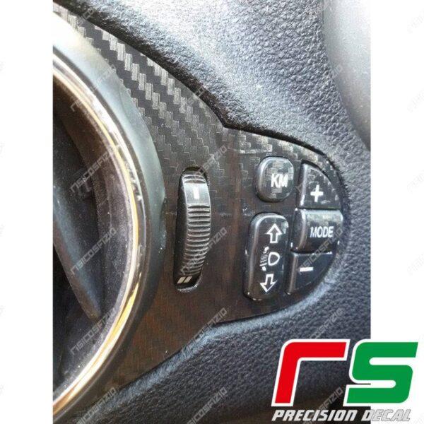 adesivi Alfa Romeo 147 GT carbonlook decal mode bocchette clima