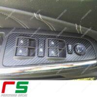 adesivi Lancia Delta Fiat Bravo carbonlook Decal pulsantiera alzacristalli