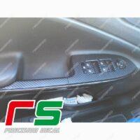 Alfa Romeo Giulietta adesivi Decal carbonlook pulsantiera alzacristalli lunga L