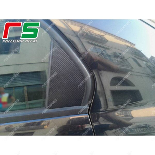 adesivi Alfa Romeo 159 carbonlook modanatura portiera posteriore decal