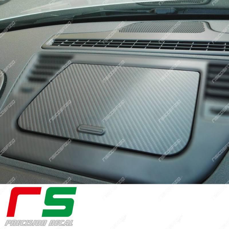adhésifs Alfa Romeo giulietta look carbone sticker de rangement sur le tableau de bord
