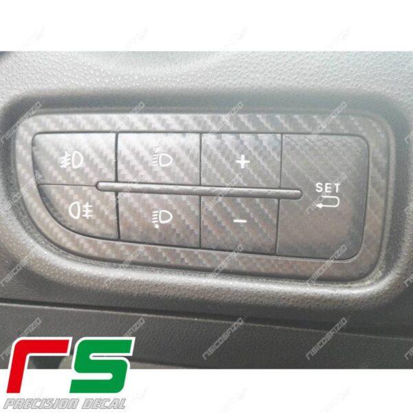 adesivi Alfa Romeo Mito 2014 Decal carbonlook tastiera menu
