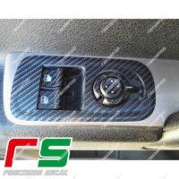 adesivi Alfa Romeo Mito Decal carbonlook isola alzacristalli XL