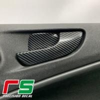 Alfa Romeo Giulietta adesivi leve maniglia sticker decal tuning