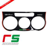 Alfa Romeo Mito STICKERS resinated manual air conditioner black
