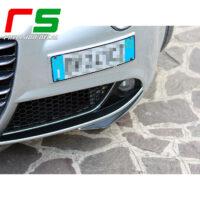 Alfa Romeo Mito Decal bumper inserts mustache fog lights carbonlook tuning