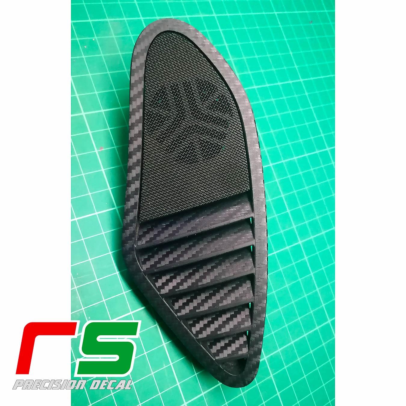 Alfa Romeo 159 carbonlook stickers tweeter vents