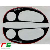 black resin stickers alfa romeo 147 and GT tweeter frames