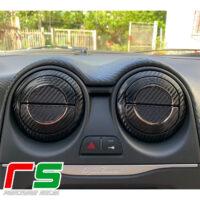 adesivi Alfa Romeo Mito carbonlook Decal bocchette climatizzatore