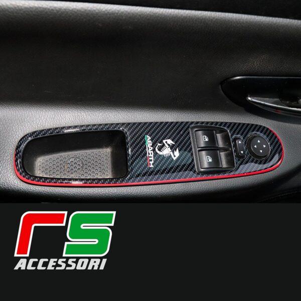 Fiat Grande Punto evo adesivi resinati pulsantiera alzacristalli