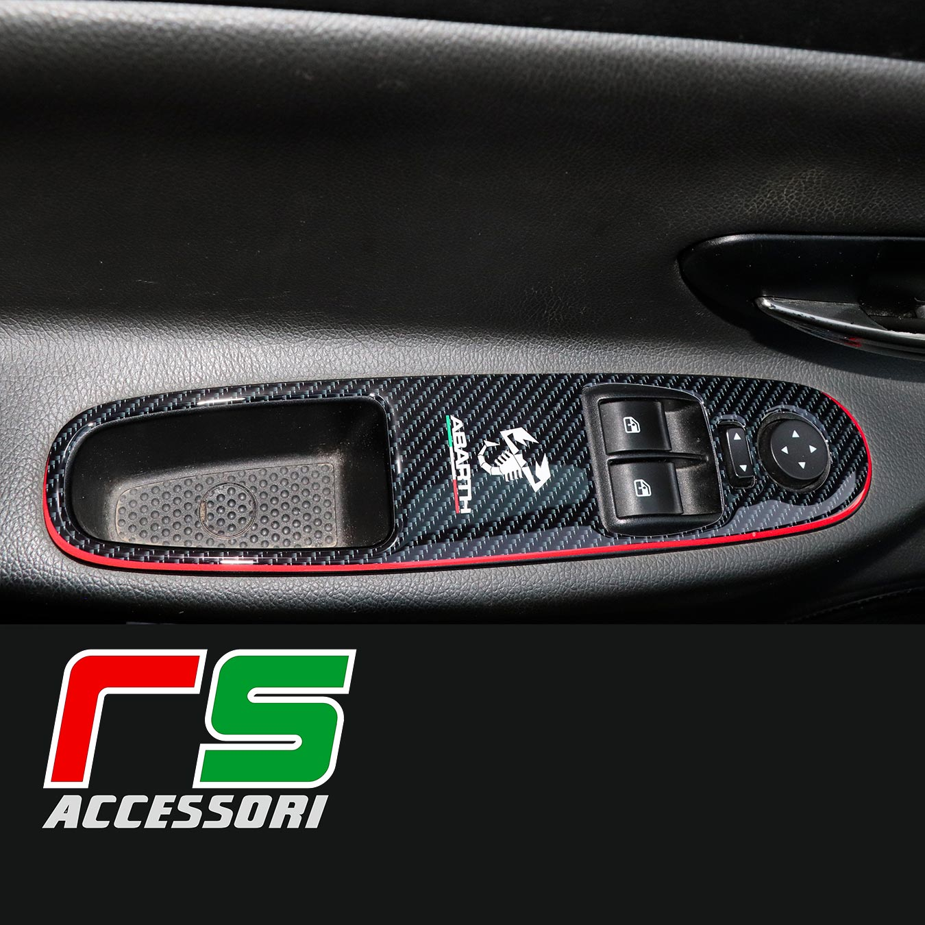 adesivi resinati pulsantiera alzacristalli Fiat Grande Punto evo
