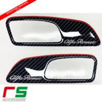 alfa romeo 159 door molded resin stickers