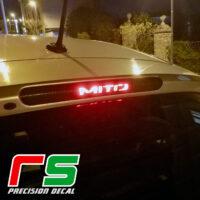 alfa Romeo Mito ADHESIVES adhesive third stop cover decal tuning
