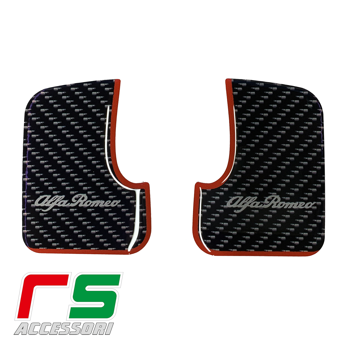 alfa romeo 147 5 doors resin STICKERS rear door cover