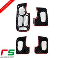 alfa romeo 147 5 doors resin STICKERS push-button window regulator