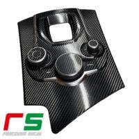 Alfa Romeo Giulia Stelvio adesivi tunnel Decal consolle carbonlook