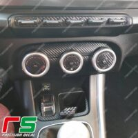 adesivi Alfa Romeo Giulietta carbonlook Decal climatizzatore manuale