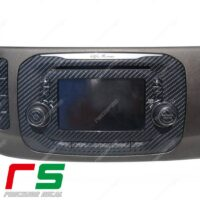 Adesivi Alfa Romeo Giulietta Uconnect 5 RadioNav Decal carbonlook in vinile simil carbonio