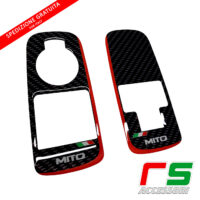 Alfa Romeo Mito ADHESIVES resinated window control decal cover sticker