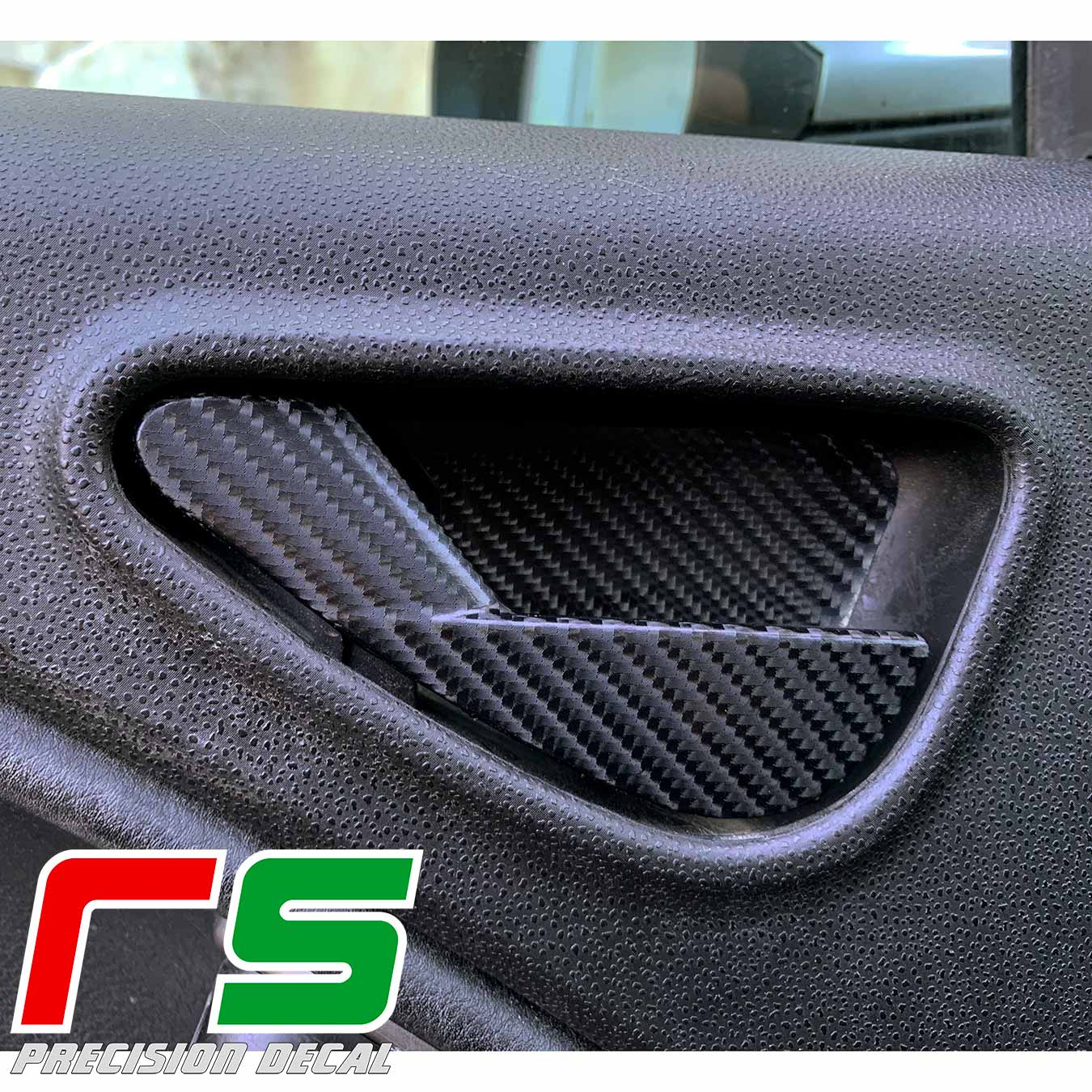 Alfa Romeo Mito autocollants autocollant autocollant leviers poignée tuning carbonlook