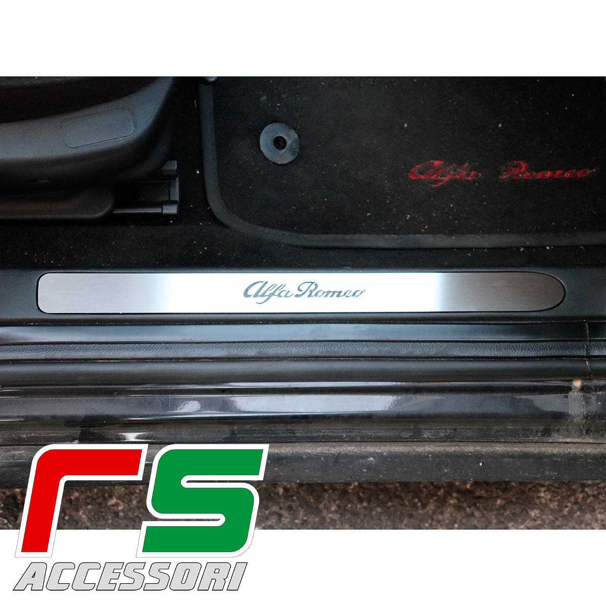 soglia battitacco sottoporta Alfa Romeo 159 batticalcagno acciaio inox