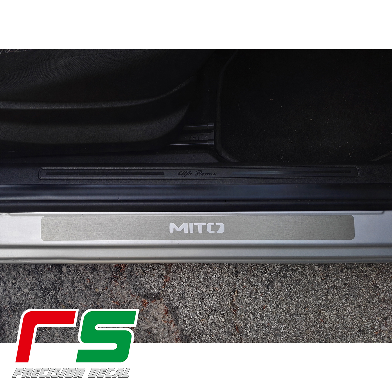 461/5000 alfa romeo mito door sill guards protect under-door tuning